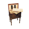 Quality Importers San Marco 300 Cigar Antique Table Humidor open