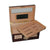 "Quality Importers ""The Versailles"" Glass Window Humidor"