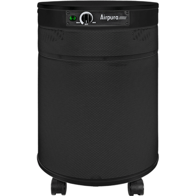 Airpura Air Purifier Black / With Super HEPA Filter (99.99% of particles ≥ 0.1 microns) R600 All-Purpose Air Purifier by Airpura