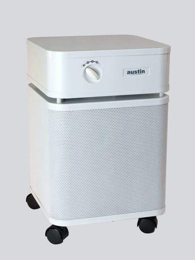 Austin Air Air Purifier White The Bedroom Smoke Eater Machine For Chemicals, Smoke & Odor Removal