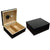 The Chalet Black Finish Cigar Humidor l 25-50 Cigars