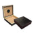 The Chateau Black Finish Cigar Humidor l 20 Cigars