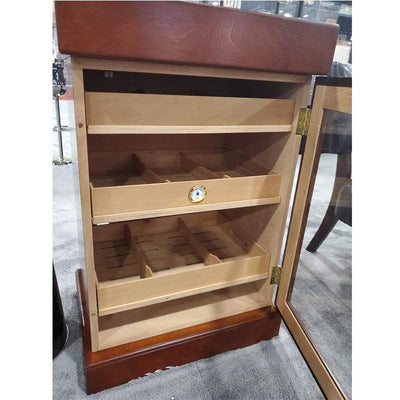 Quality Importers Desktop Humidor The Mini Tower Humidor Cabinet | 1,000 Cigars