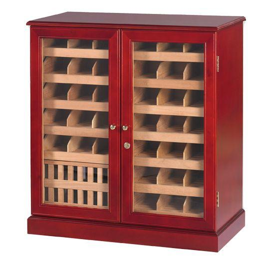 Quality Importers HUMIDOR The Monarch Humidor Cabinet | 1,500 Cigars