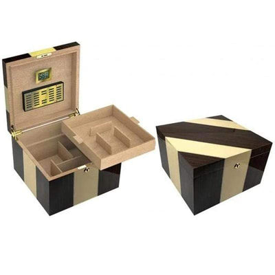 Viceroy Cross-Inlaid Cigar Humidor Gift Set | 110 Cigars review