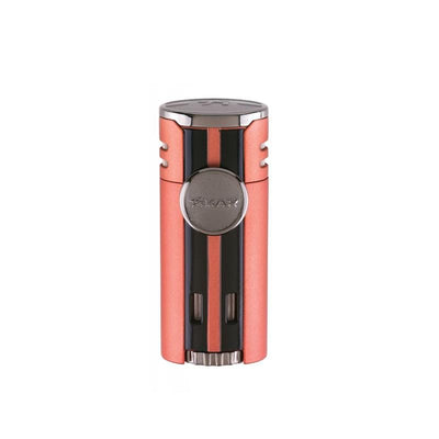 Quality Importers Lighter Chopper Orange Xikar HP4 Quad Lighter
