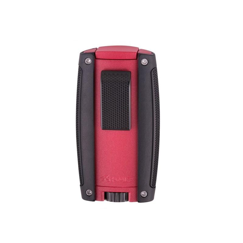 Quality Importers Lighter Matte Red XIKAR Turismo Lighters
