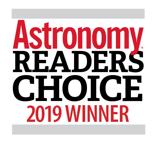Astronomy Readers Choice 2019 Winner