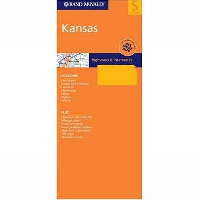 Kansas Rand McNally State Map