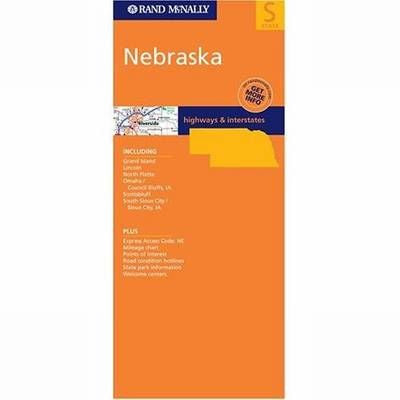 Nebraska Rand McNally State Map