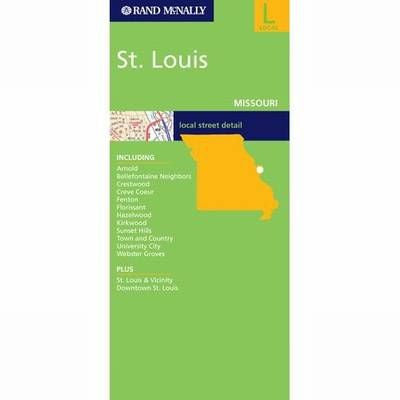 St. Louis Rand McNally Street Map