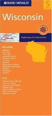 Wisconsin Rand McNally State Map