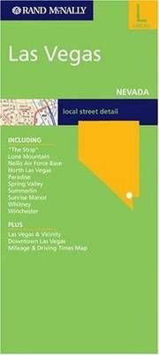 Las Vegas Rand McNally Street Map