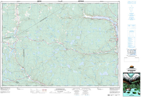 11F/05 Guysborough Topographic Map Nova Scotia Tyvek