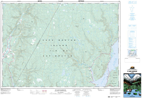 11K/07 St Anns Harbour Topographic Map Nova Scotia