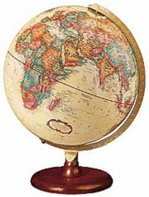 "Hastings 12"" Antique Style Globe"