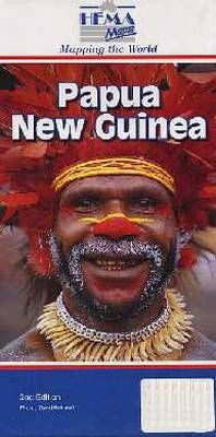 Paupa New Guinea Hema Travel Map