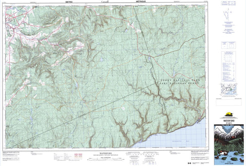21H/11 Topographic Maps Waterford New Brunswick