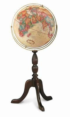 "Cambridge 16"" Antique Style Floor Globe"