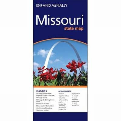 Missouri Rand McNally State Map