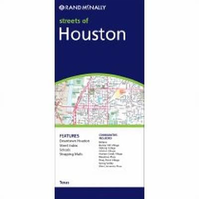 Houston Rand McNally Steet Map