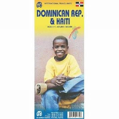 Dominican Republic & Haiti ITM Travel Map