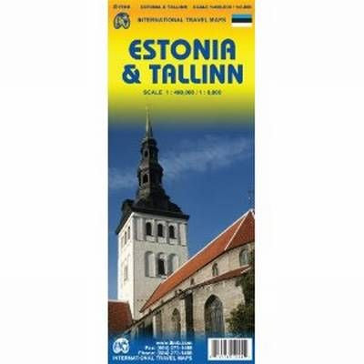 Estonia & Tallinn ITM Travel Map