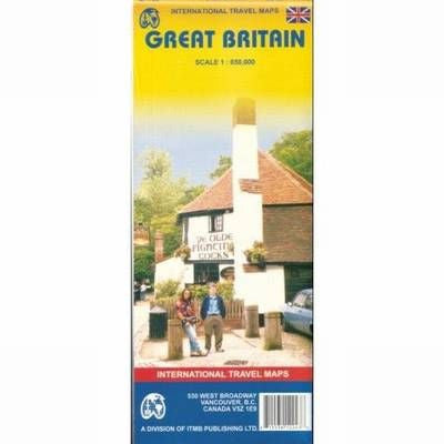 Great Britain  ITM Travel Map