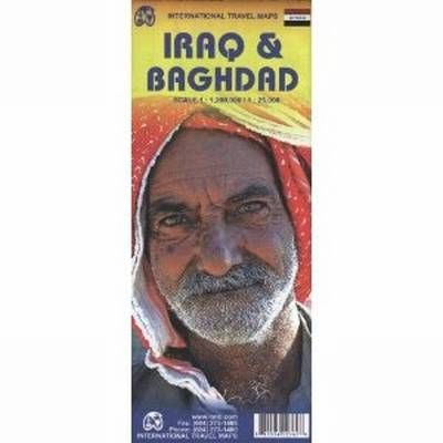 Iraq & Baghdad ITM Travel Map