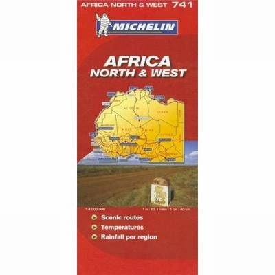 Africa North &West Michelin Map 741