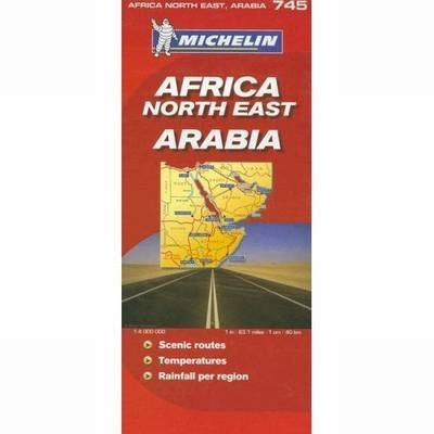 Africa Northeast/Arabia Michelin Map 745