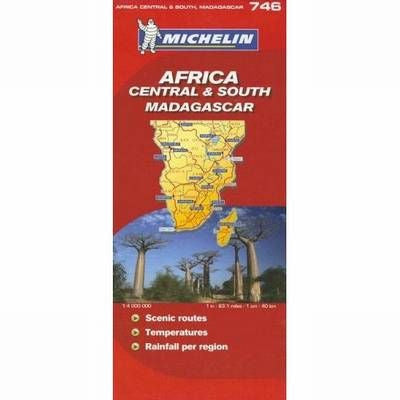 Africa Central & South Michelin Map 746