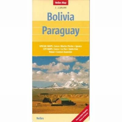 Bolivia / Paraguay Nelles Travel Map