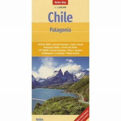 Chile - Patagonia Nelles Map