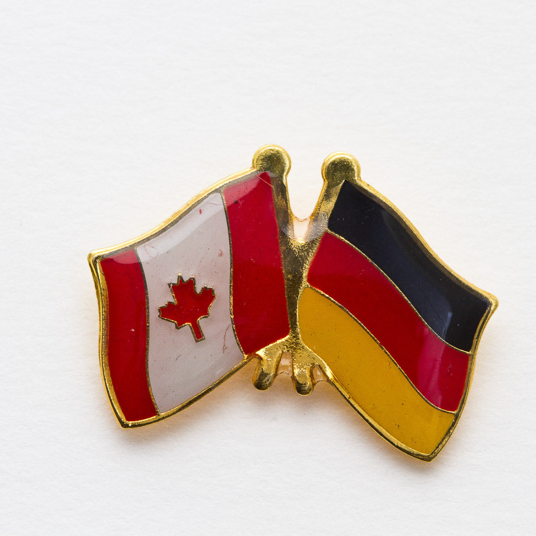 Germany / Canada Friendship Lapel Pin