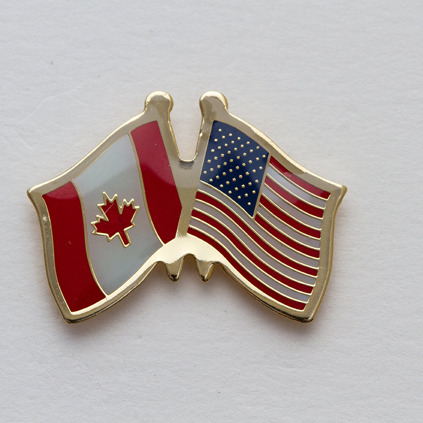 USA / Canada Friendship Lapel Pin