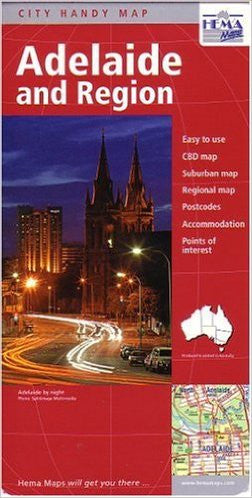 Adelaide Hema Travel Map