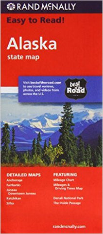 Alaska Rand McNally State Map