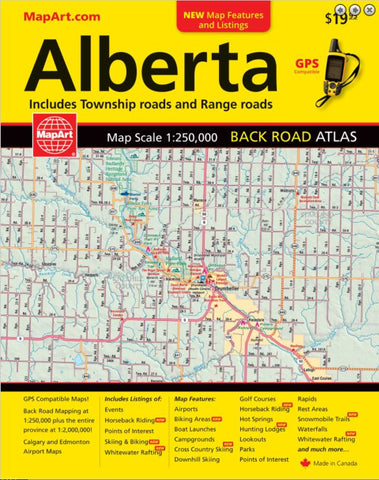 Alberta Back Road Atlas