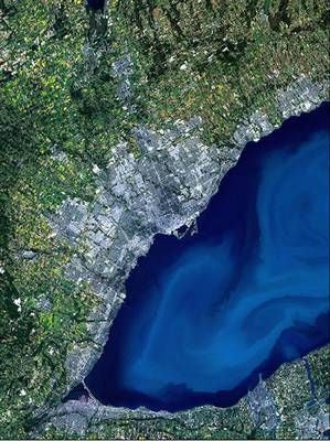 "Greater Toronto from Space Poster 34""x 24"""