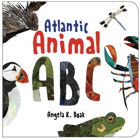 Atlantic Animal ABC Board book