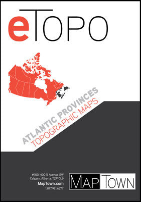 Electronic Topographic Maps:  Atlantic Provinces