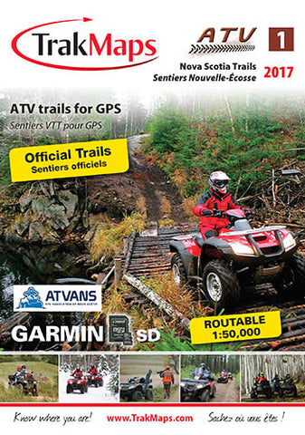 Nova Scotia ATV Trails for GPS