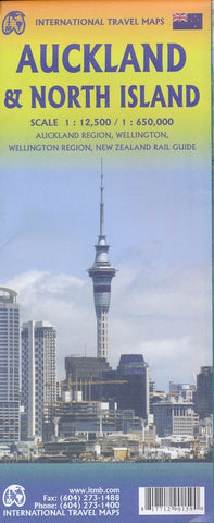 Auckland & North Island ITM Map 2e
