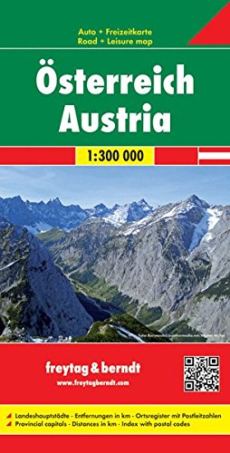 Austria FB Travel Map