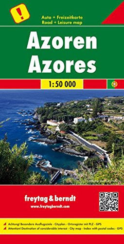 Azores F&B Travel Map