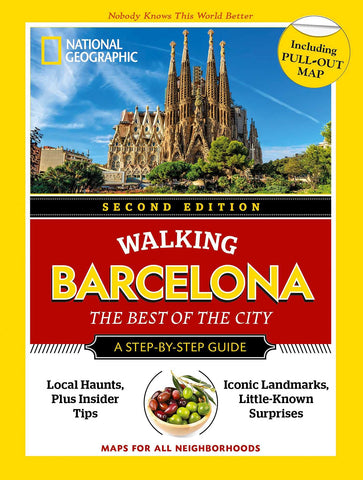 National Geographic Walking Barcelona 1e