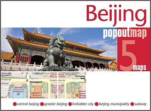 Beijing Popout Map