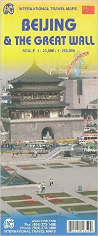Beijing & the Great Wall  ITM Travel Map
