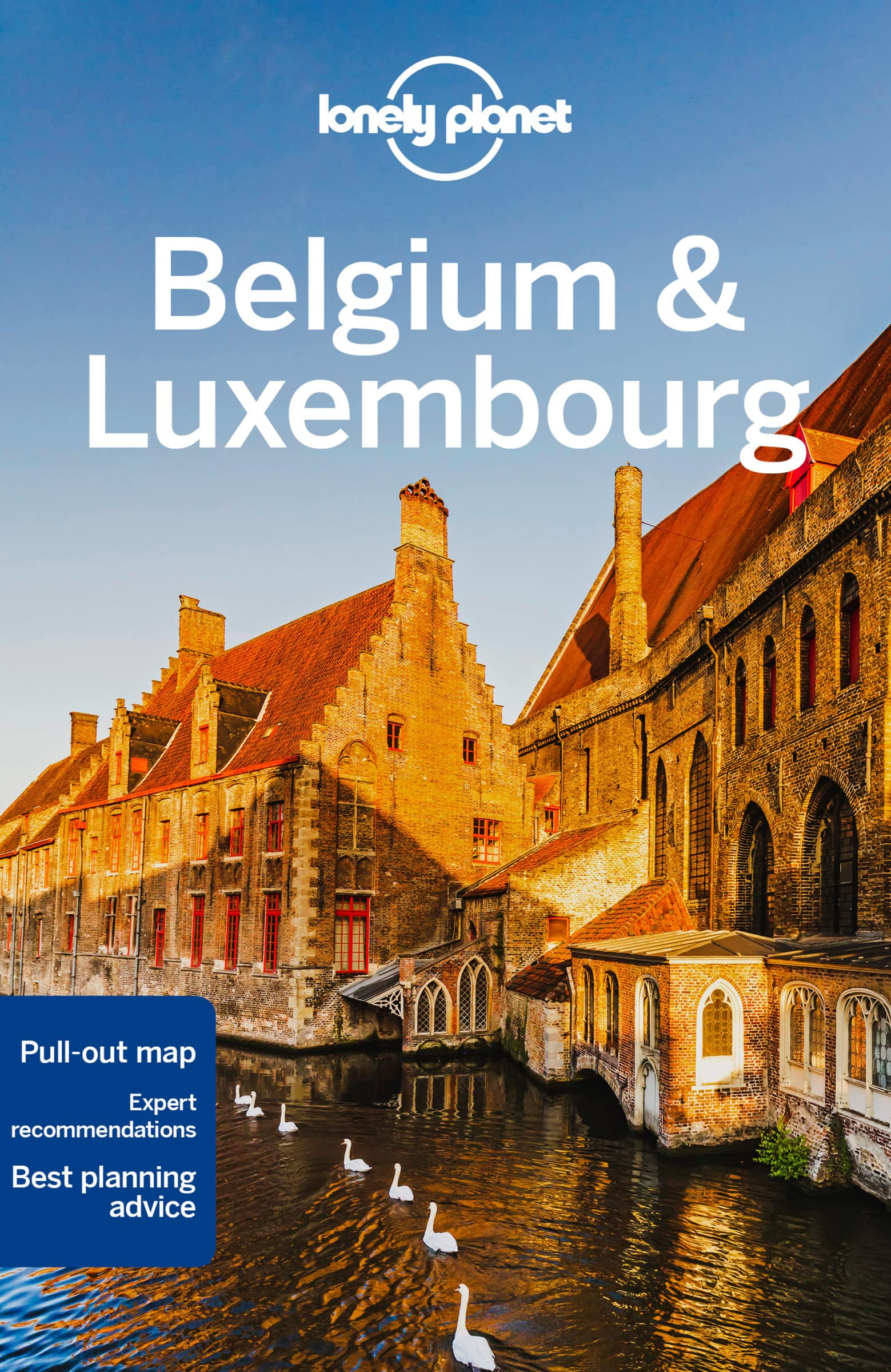 Belgium & Luxembourg Lonely Planet 6e